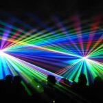 Spectaculaire lasershow in het kader van Deurne 1300